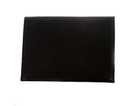 H+B COSMETIC BAG | BLACK LEATHER COSMETIC BAG