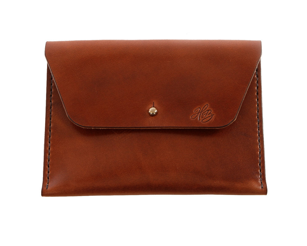 H+B COSMETIC BAG | ESPRESSO BROWN LEATHER