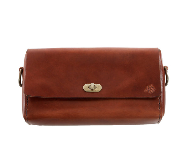 H+B CROSSBODY | ESPRESSO LEATHER