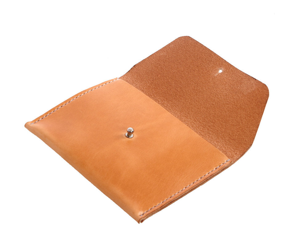 H+B COSMETIC BAG | RUSSET LEATHER