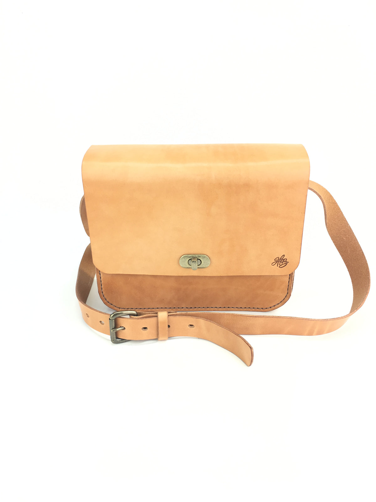H+B WILSON CROSSBODY PURSE - RUSSET LEATHER