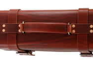 H+B LEATHER BAG | CLASSIC BURNT UMBER LEATHER BAG