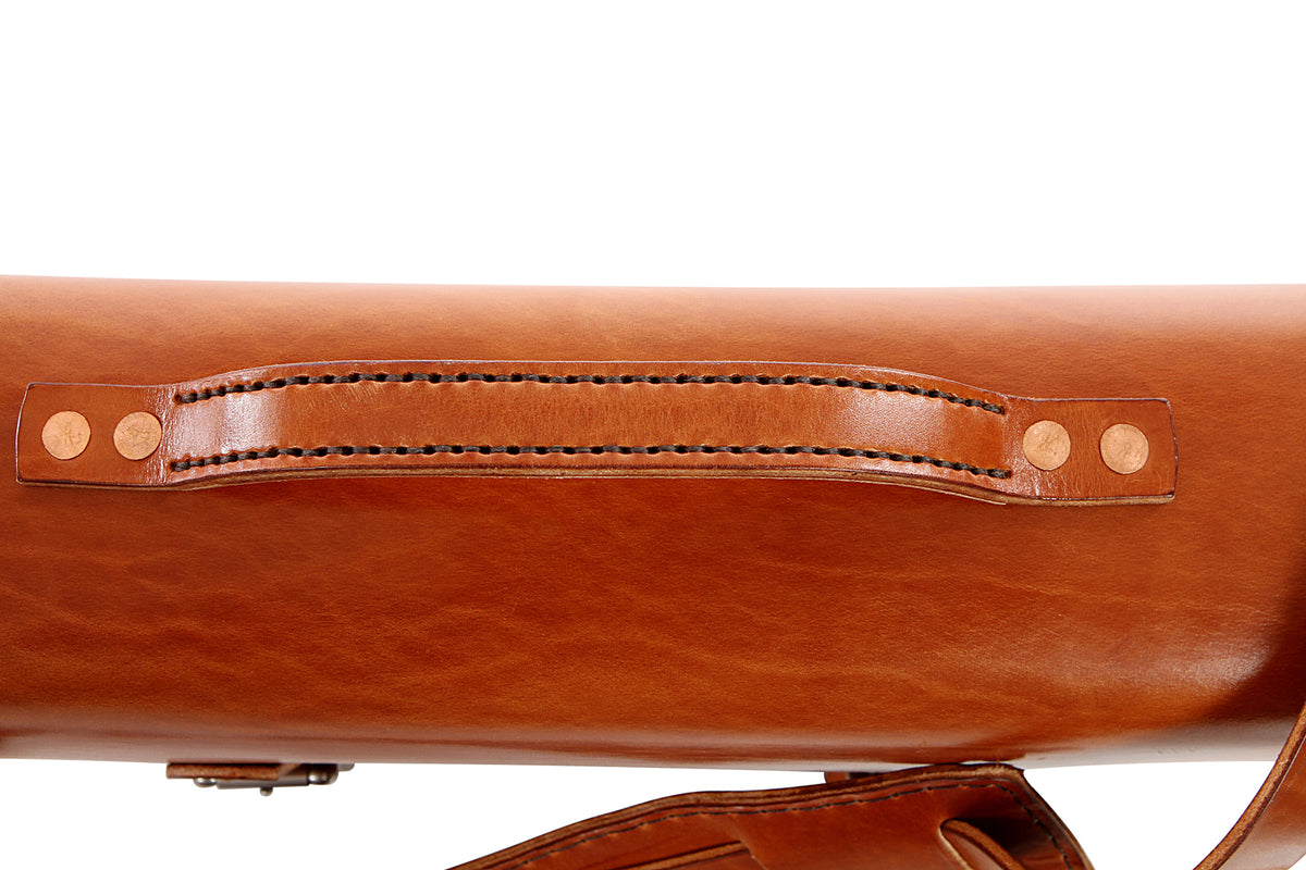 H+B TRAVELER | BUCK BROWN LEATHER