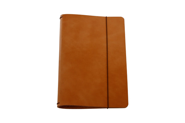 H+B MEDIUM JOURNAL | BUCK BROWN LEATHER