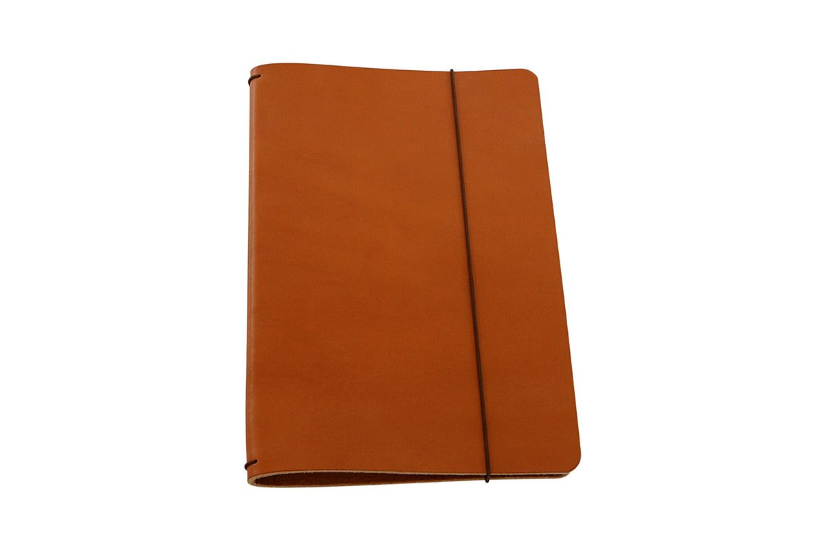 H+B MEDIUM JOURNAL | TAN LEATHER