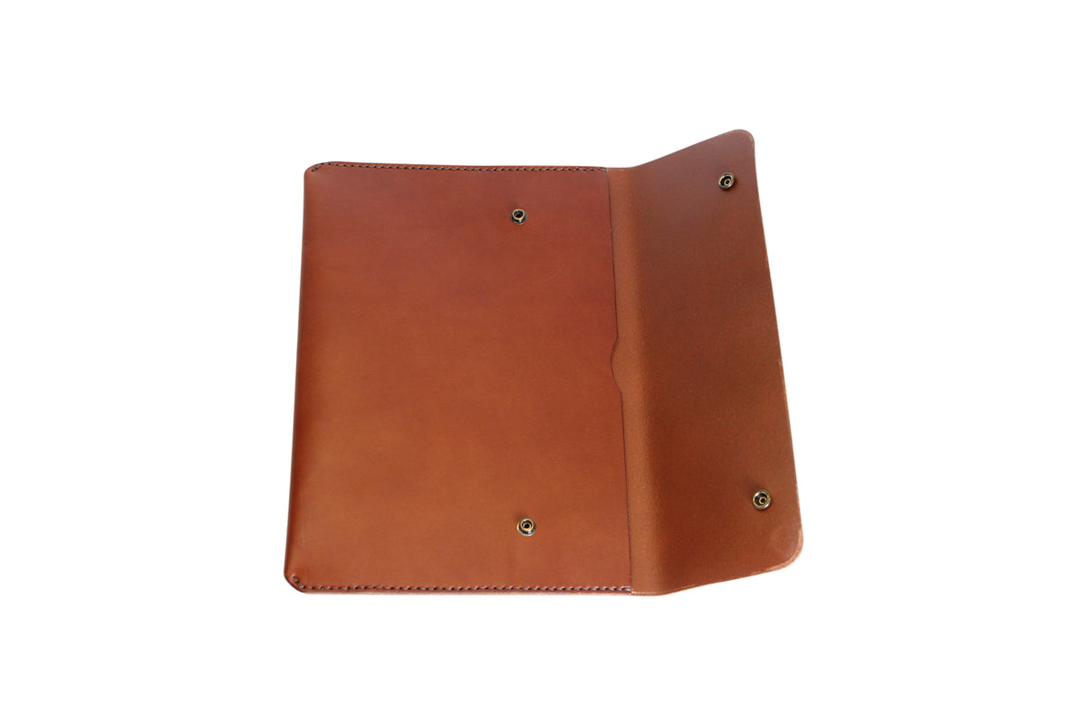 H+B LAPTOP CASE | SEDONA BROWN LEATHER
