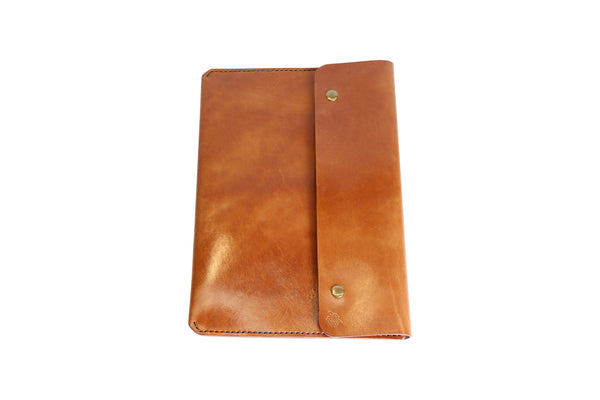 H+B LAPTOP CASE | BUCK BROWN LEATHER