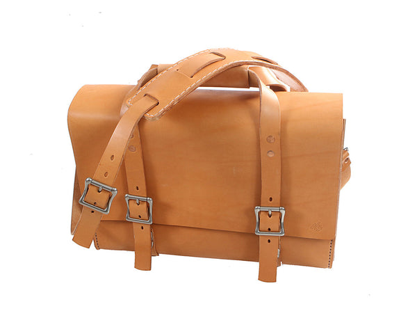H+B WATSON BAG | RUSSET LEATHER