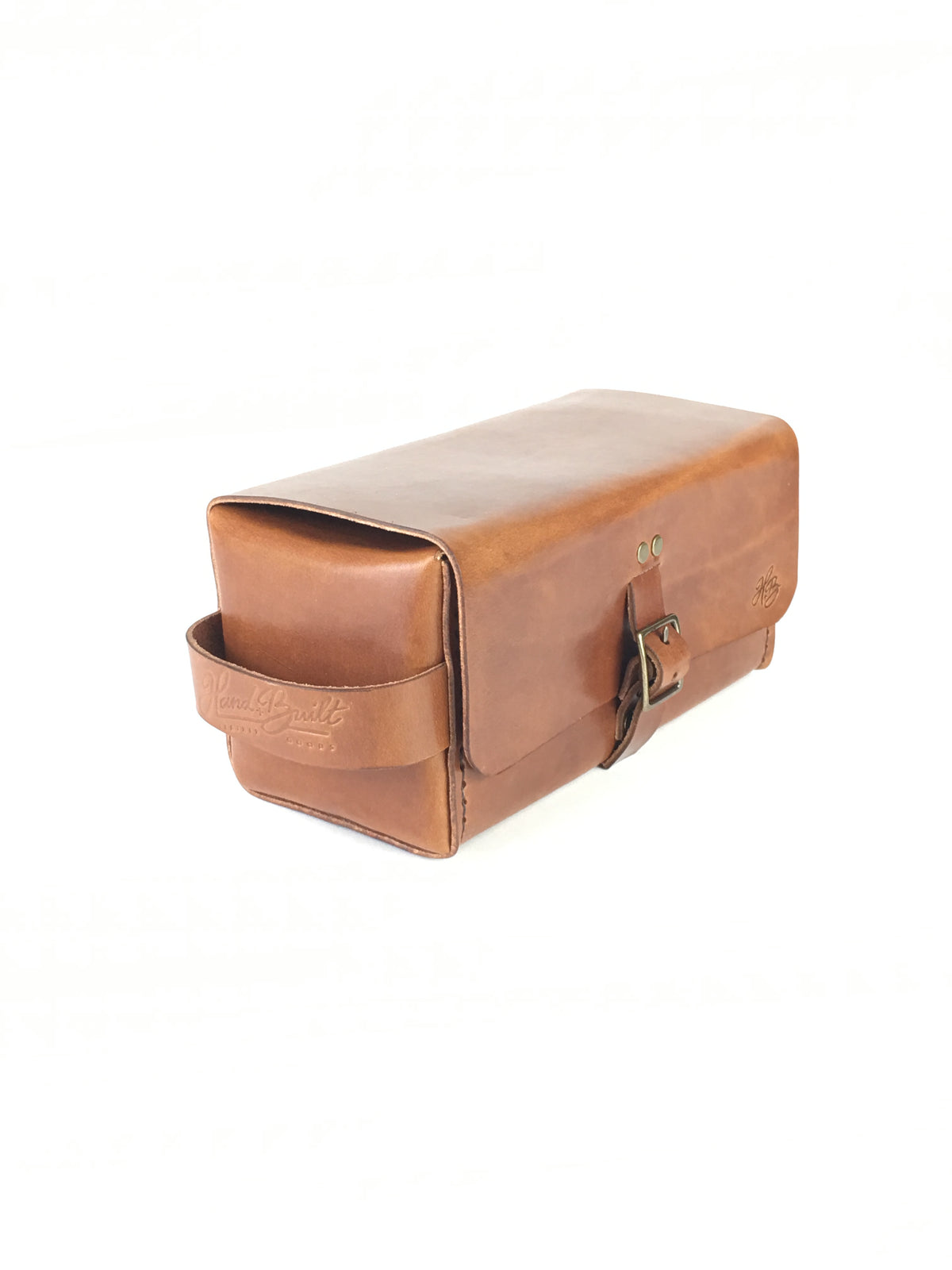 H+B SIMPLE DOPP KIT | BUCK BROWN LEATHER