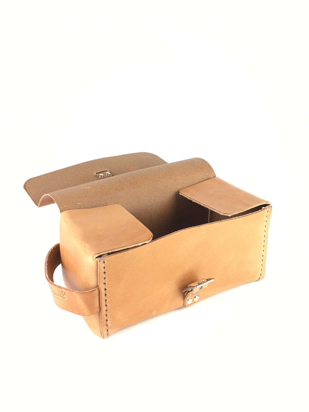H+B SIMPLE DOPP KIT | RUSSET LEATHER