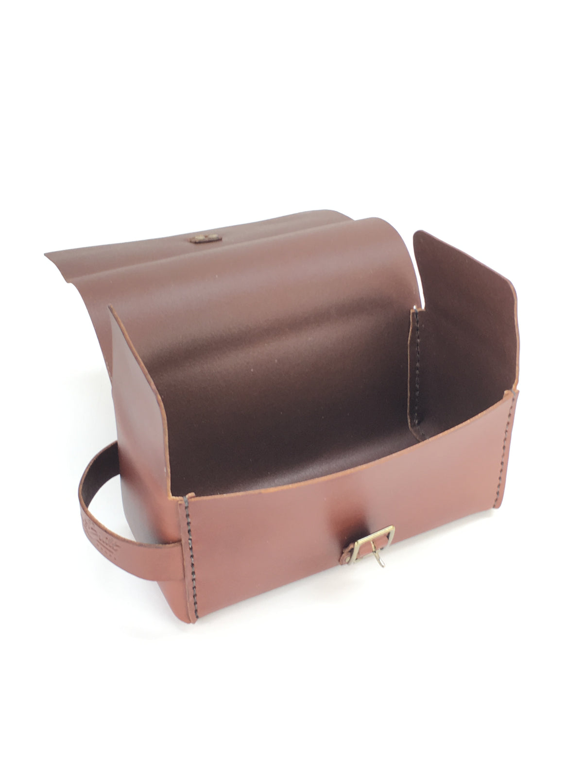 H+B LARGE DOPP KIT  | SEDONA BROWN LEATHER