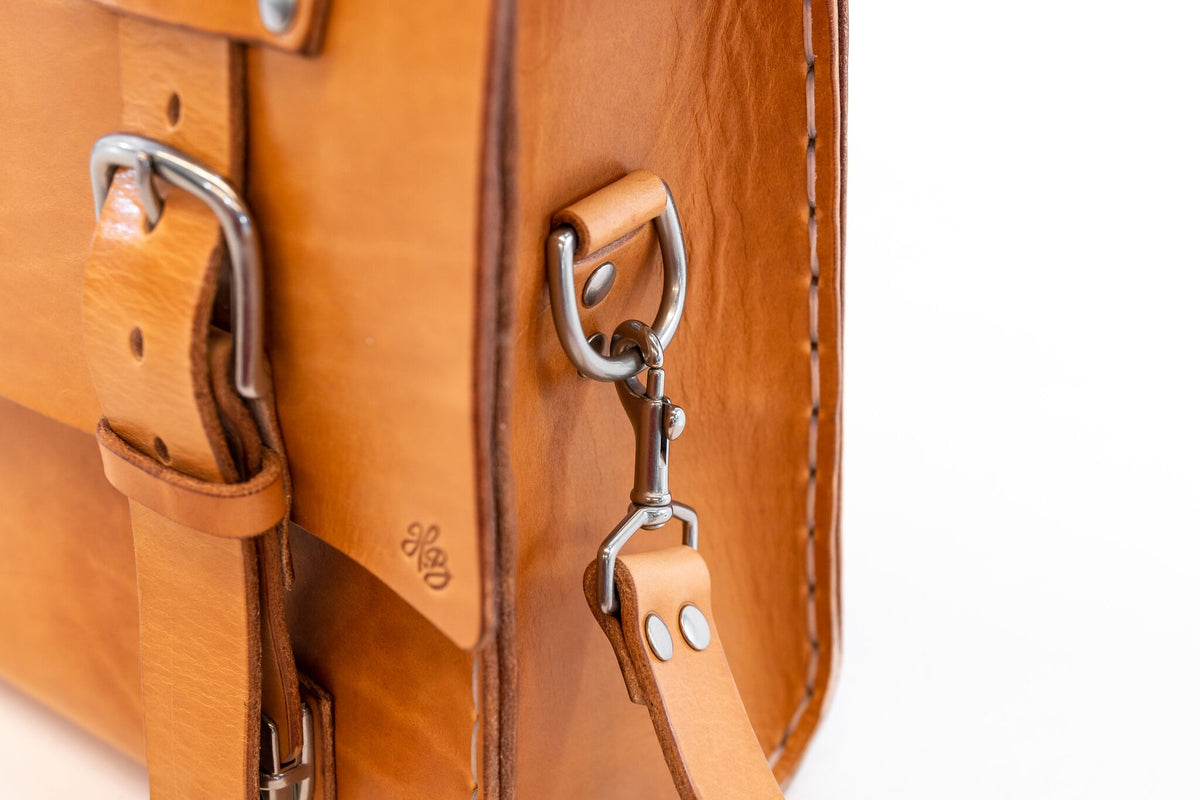 H+B SADDLE | RUSSET LEATHER