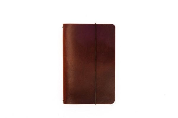 H+B Field Notes JOURNAL | BURNT UMBER LEATHER JOURNAL