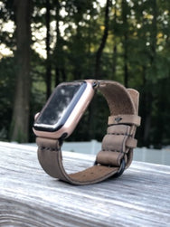 H+B APPLE WATCHBAND - DISTRESSED FULL GRAIN LEATHER