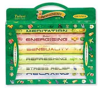 TULASI 6-IN-1 Aromatherapy Kit - Mountain View Candle Works