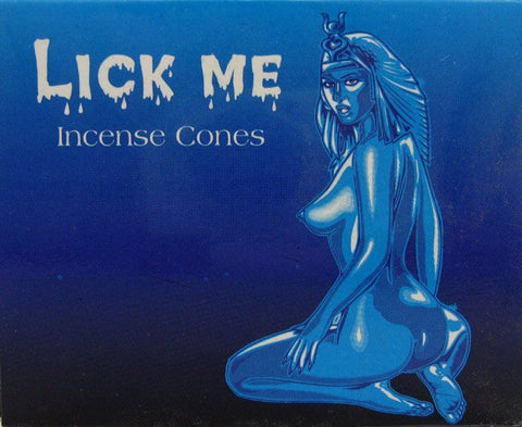 Lick Me Incense cones - Mountain View Candle Works