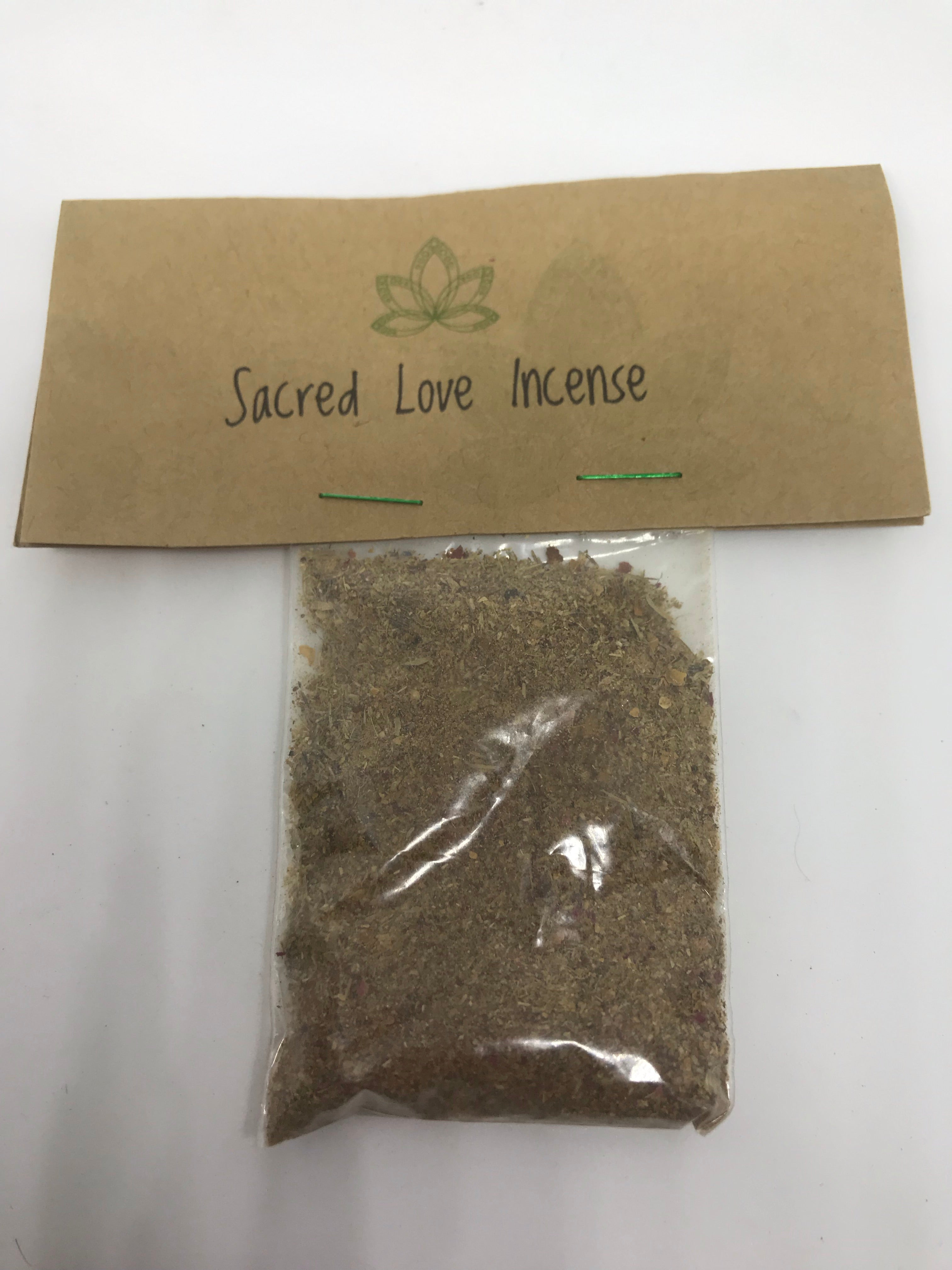 Sacred Love Incense - Mountain View Candle Works