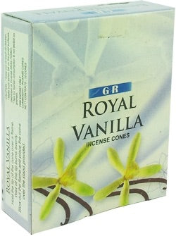 Royal Vanilla Cone Incense - Mountain View Candle Works