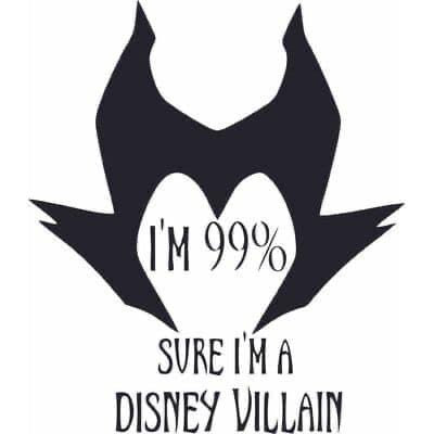 I'm a Villain Decal