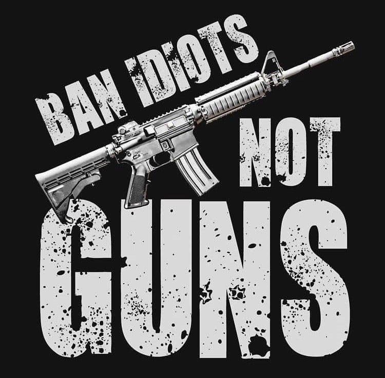 Ban Idiot Decal