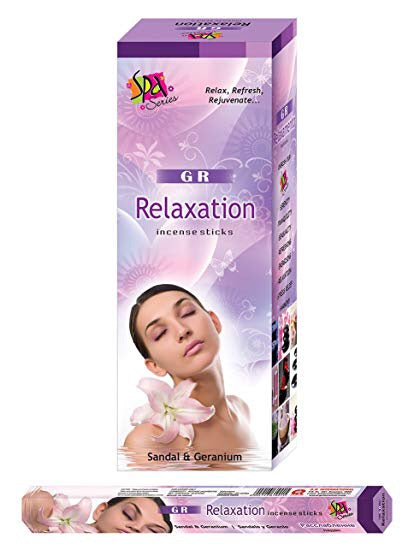 Gr Relaxation Incense - Mountain View Candle Works