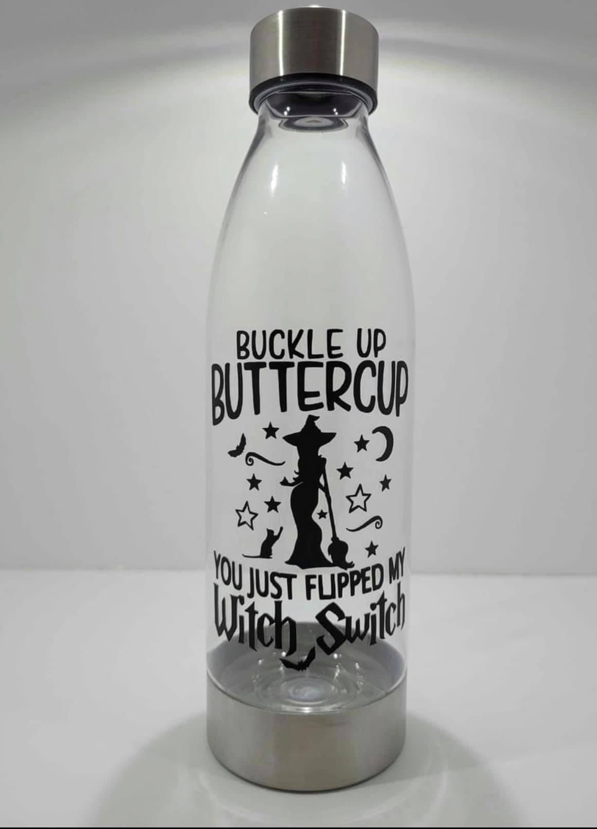 Buckle up Plastic Water Bottle