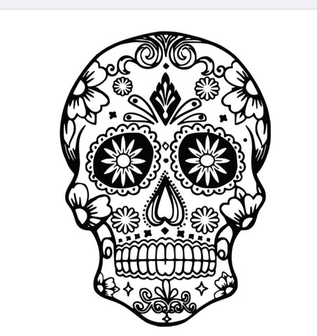 Sugar Skull Decal