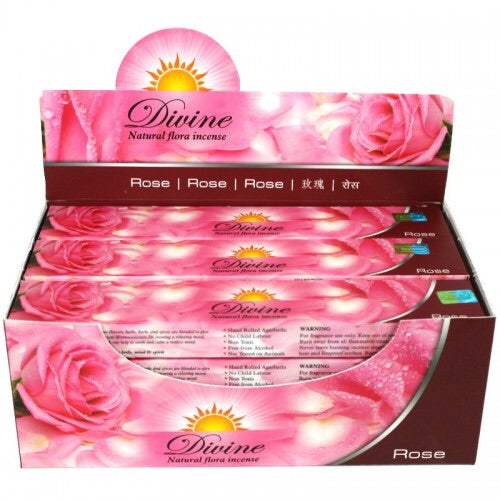Rose Divine Incense - Mountain View Candle Works