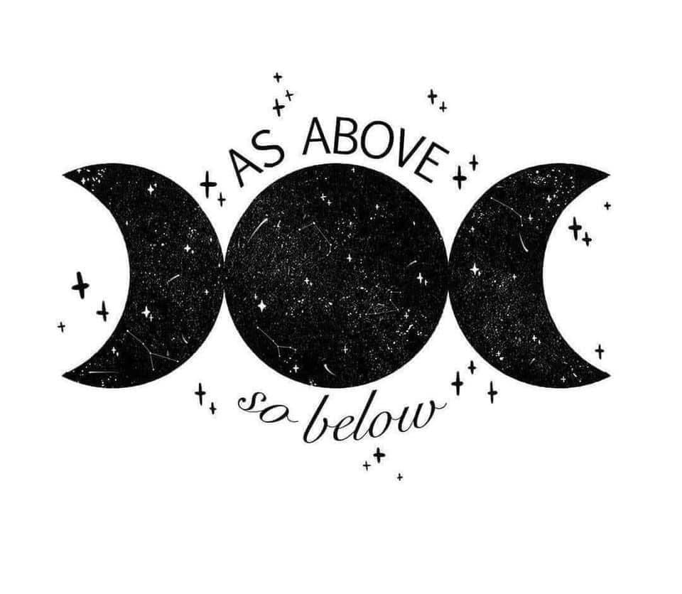 As above so Below Decal