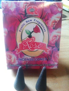Rose Incense cones - Mountain View Candle Works