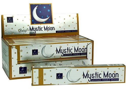 Balaji Mystic Moon incense - Mountain View Candle Works