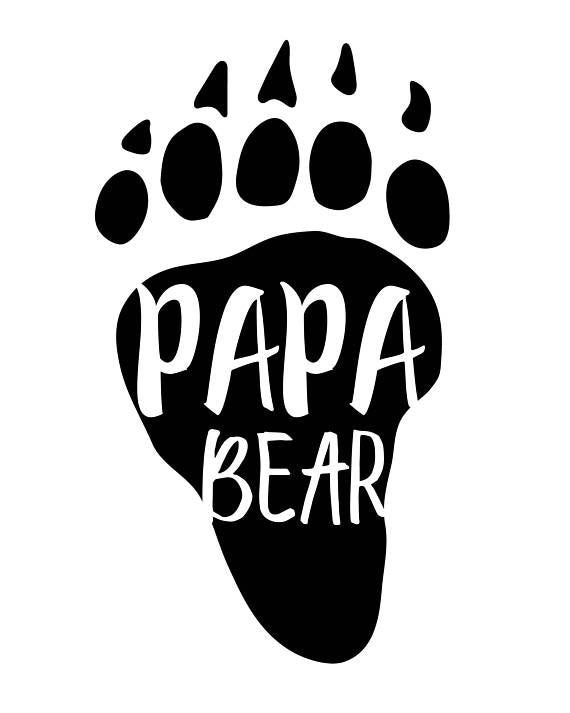 Papa Bear Decal