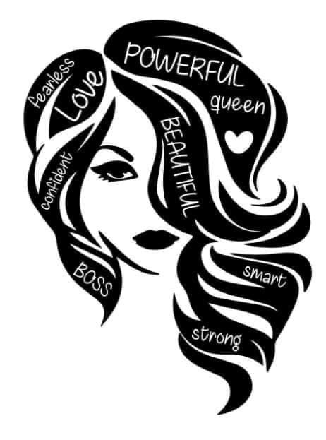 Women Power Decal