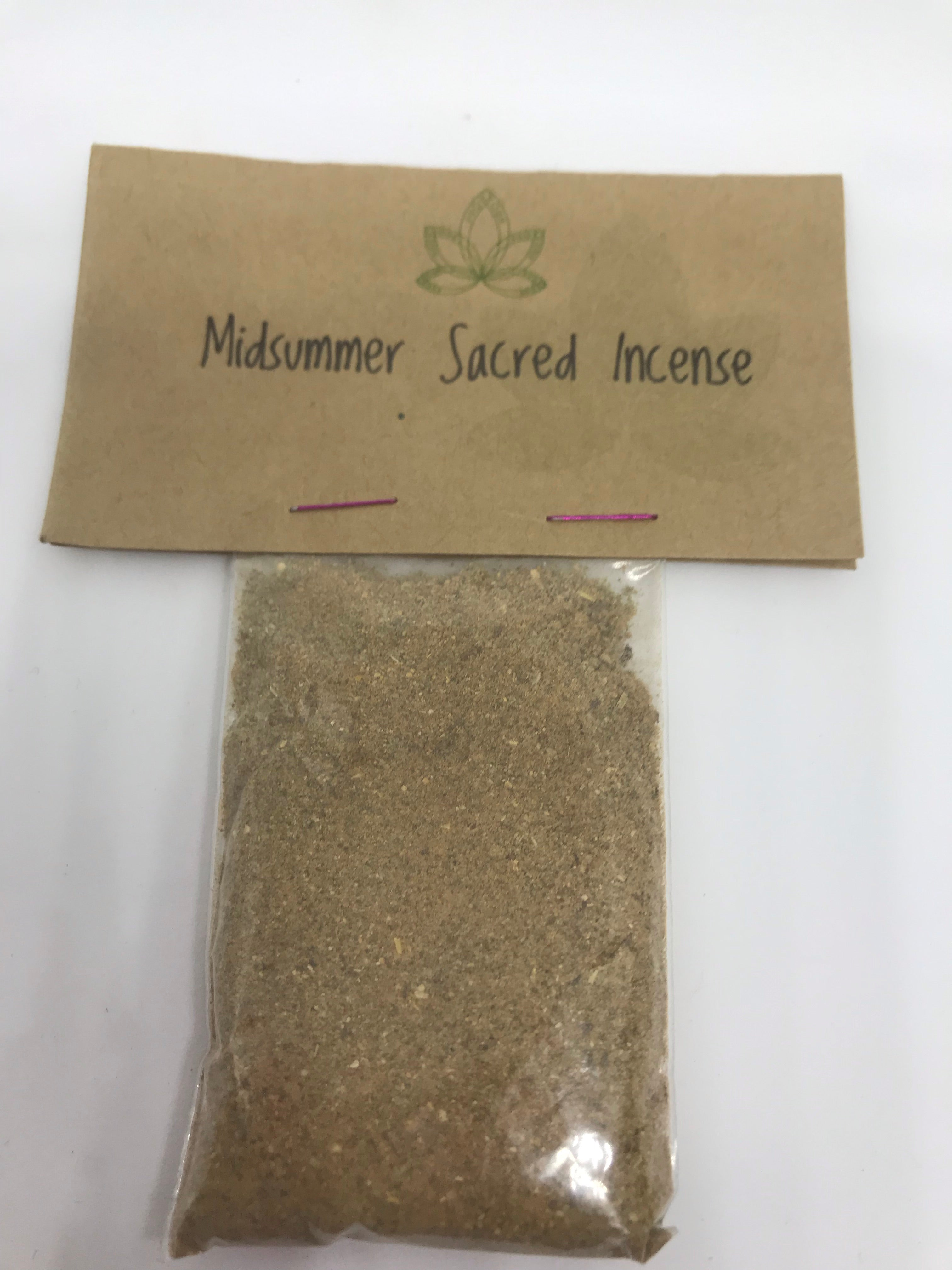 Midsummer/Litha Sacred Incense - Mountain View Candle Works