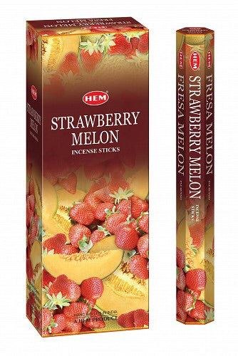 Hem Strawberry Melon - Mountain View Candle Works