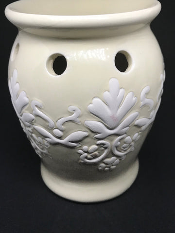 White Tart warmer - Mountain View Candle Works