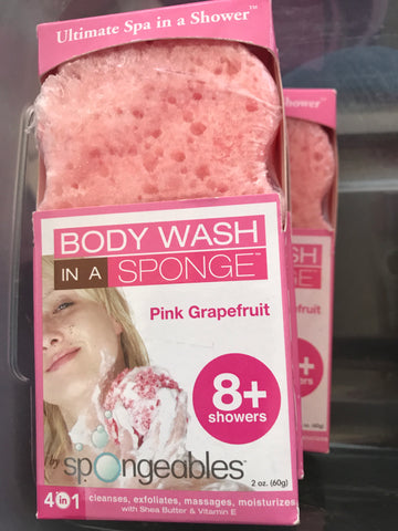 Body Wash in a sponge - Mountain View Candle Works