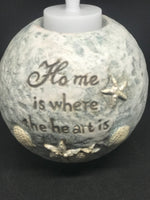 Home is where the heart is tea light holder - Mountain View Candle Works