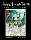 Jasmine Becket-Griffith Coloring Book - Mountain View Candle Works