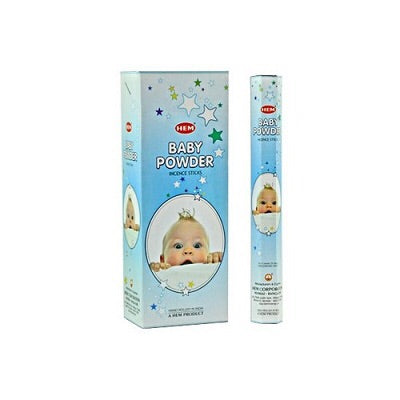 Hem Baby Powder - Mountain View Candle Works