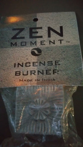 Zen Moments Incense Burner (Square) - Mountain View Candle Works