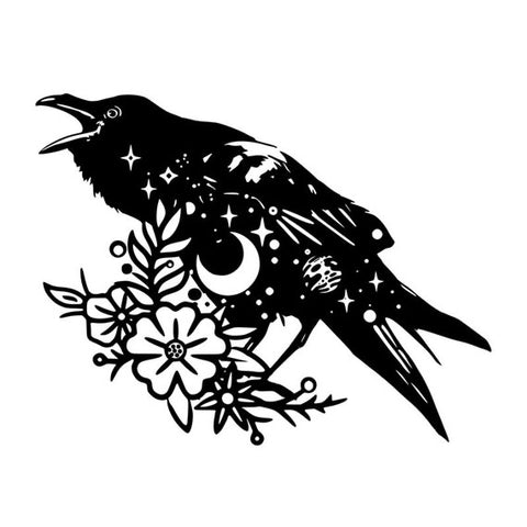 Raven of the night Decal