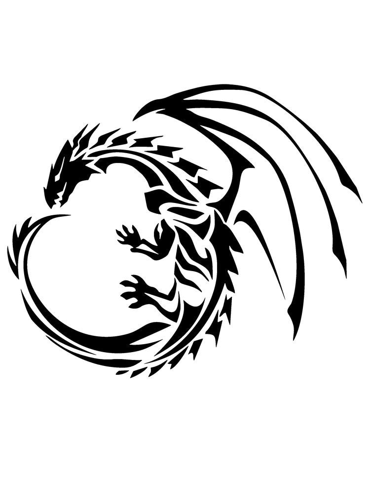 Dragon Car Decal