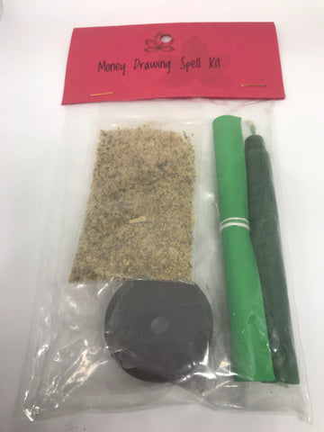 Money Drawing Spell Kit - Mountain View Candle Works