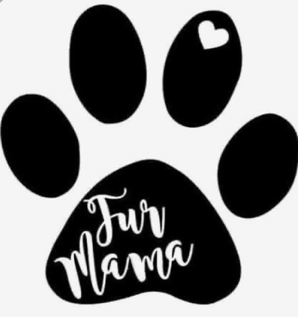 Fur Mom Car Decal