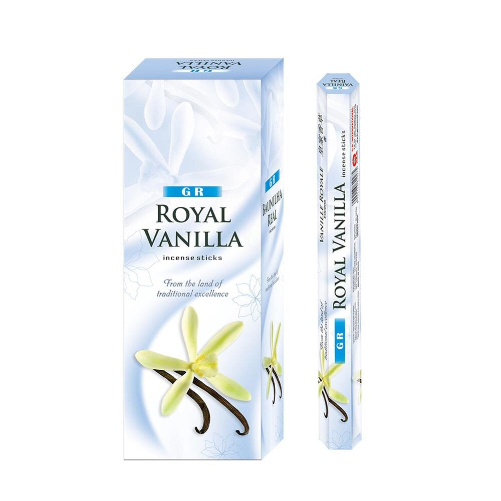 Gr Royal Vanilla Incense - Mountain View Candle Works