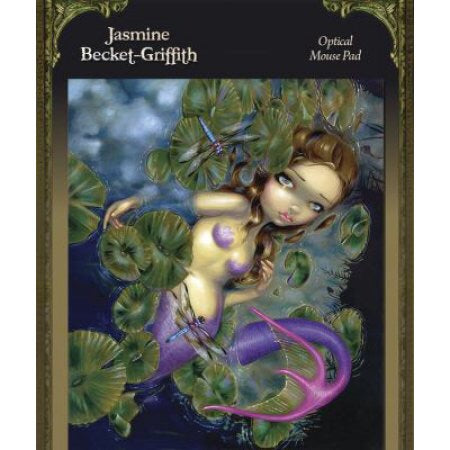 Dragonfly Mermaid Mousepad - Mountain View Candle Works