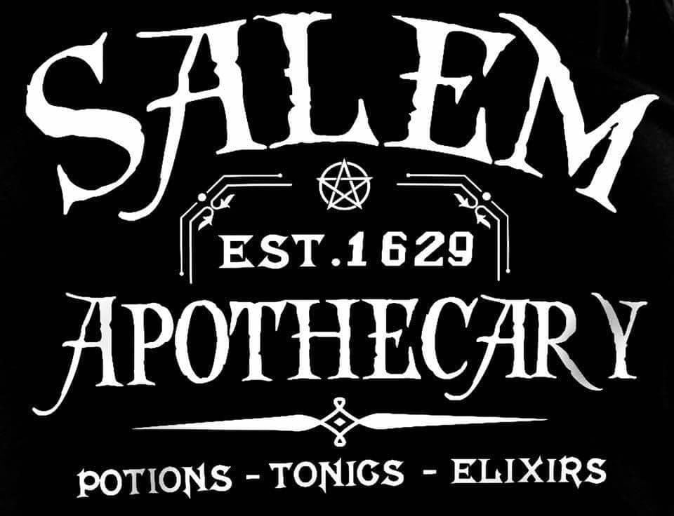 Salem Apothecary  Decal