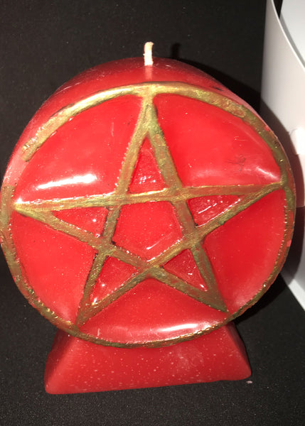 Large Pentagram Candle - Mountain View Candle Works