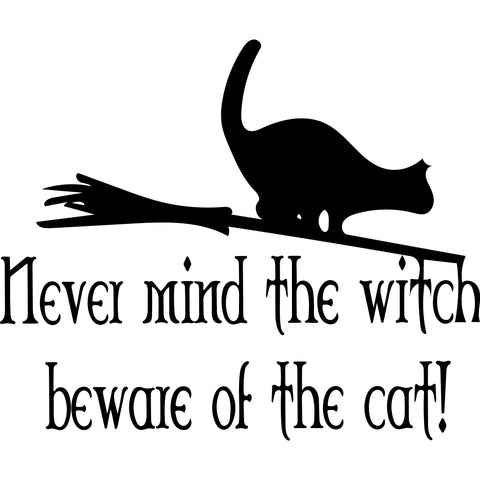 beware of the cat